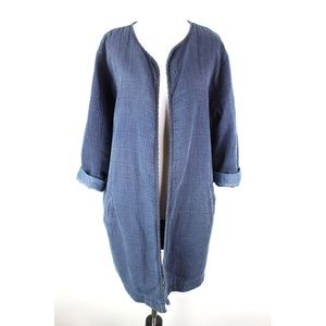 Eileen Fisher the fisher project Cardigan Sz L